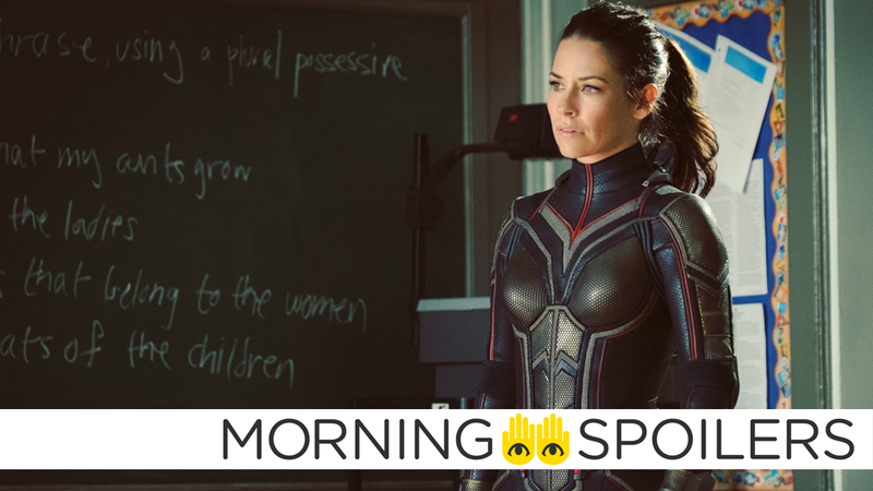 Illustration for article titled New Ant-Man 2 Pictures Reveal a Villain and Wasp's Full Suit