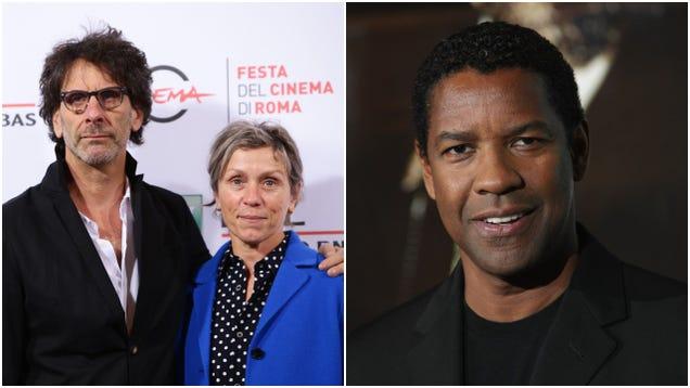 Joel Coen ditches Ethan forMacbethadaptation starring Denzel Washington, Frances McDormand