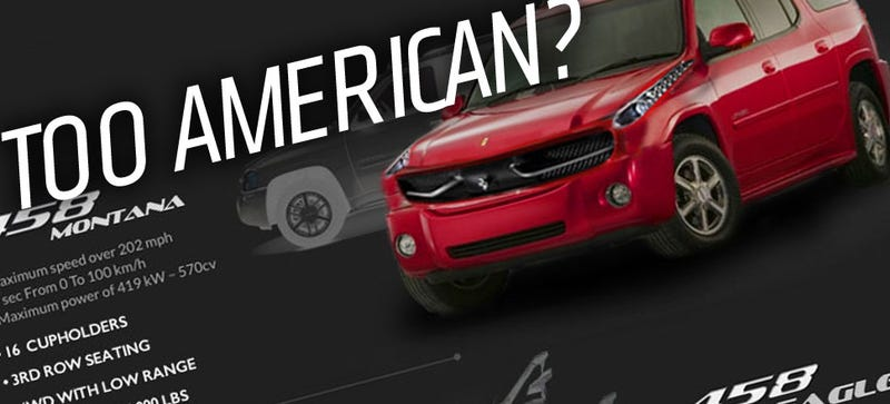Illustration for article titled EXCLUSIVE: Ferrari's New 'Americanized' Lineup Has Leaked