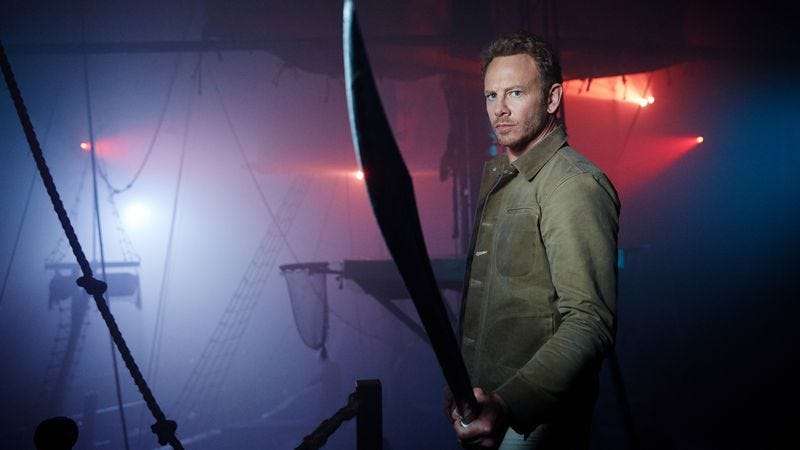 Ian Ziering (Image: Syfy). Not pictured: Sharks.