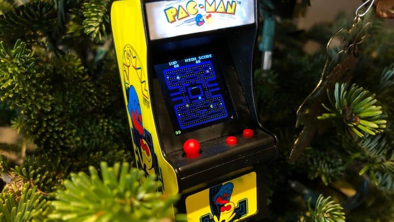 Tiny Arcade Ms. Pac-Man Miniature Arcade Game | $10 | Amazon