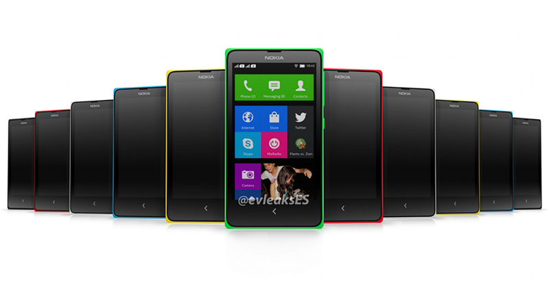 Imágenes del supuesto Android de Nokia que parece un Windows Phone