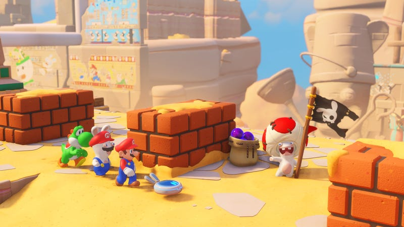 Screenshot: Mario + Rabbids: Kingdom Battle/Ubisoft