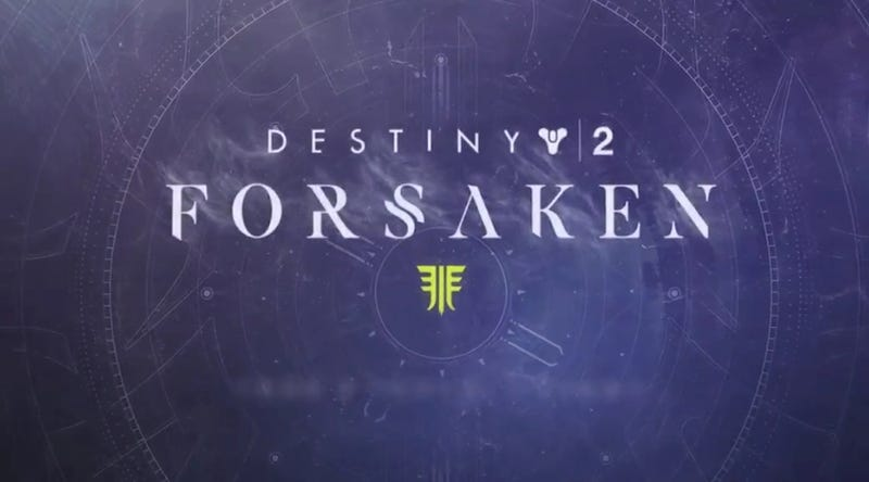 Illustration for article titled Destiny 2 Forsaken Expansion Details
