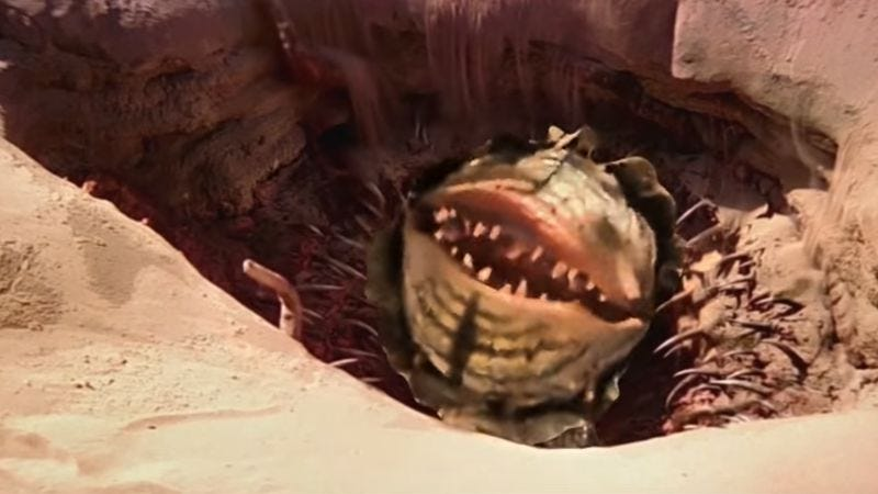 Singing Sarlacc Pit (Screenshot: YouTube)