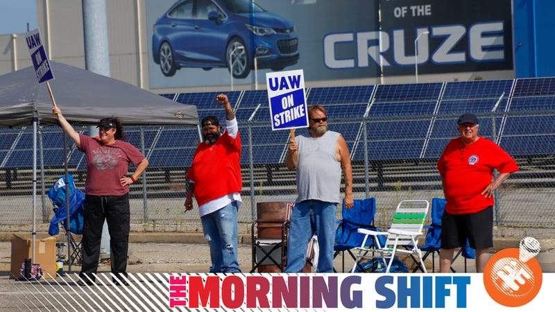 Illustration for article titled GM and the striking UAW workers getting ready for a long fight