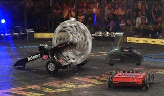 Illustration for article titled Want To Watch BattleBots In Person? Wait, That's Not Even A Question
