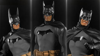 Illustration for article titled This Batman Figure Comes With Three Different Kinds Of Bat-Cowl