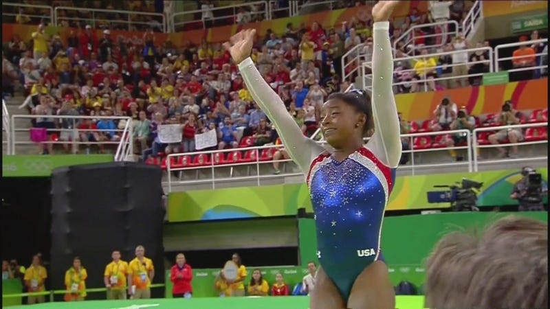 Gymnastics: 'Moscow Nights' saves Russia's day in Rio