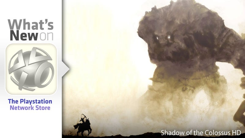 Illustration for article titled Shadow of the Colossus, Amalur Demo, Uncharted 3 DLC New This Week on the PlayStation Store