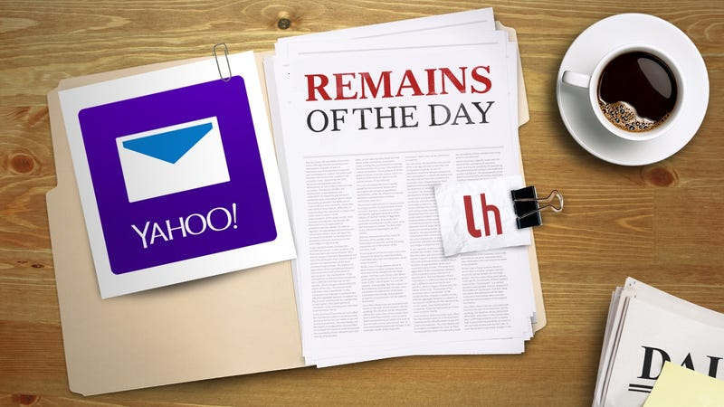 Illustration for article titled Remains of the Day: Yahoo Makes it More Difficult to Leave by Disabling Email Forwarding