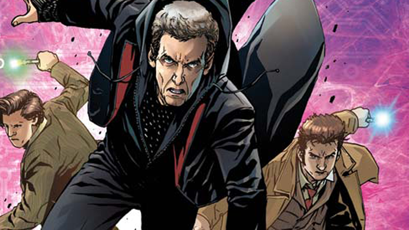 Illustration for article titled Time Lords Collide in This First Look at the New Doctor Who Comic Crossover