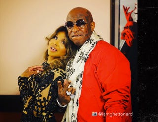 "Toni Braxton and  Bryan ""Birdman"" Williams@iamghettonerd via Twitter"