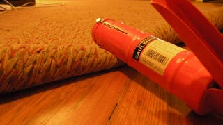 Illustration for article titled Line your Rugs With Caulk for Cheap Slip-Proofing