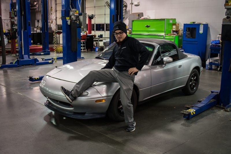 Illustration for article titled My miata brings all the boys to the yard