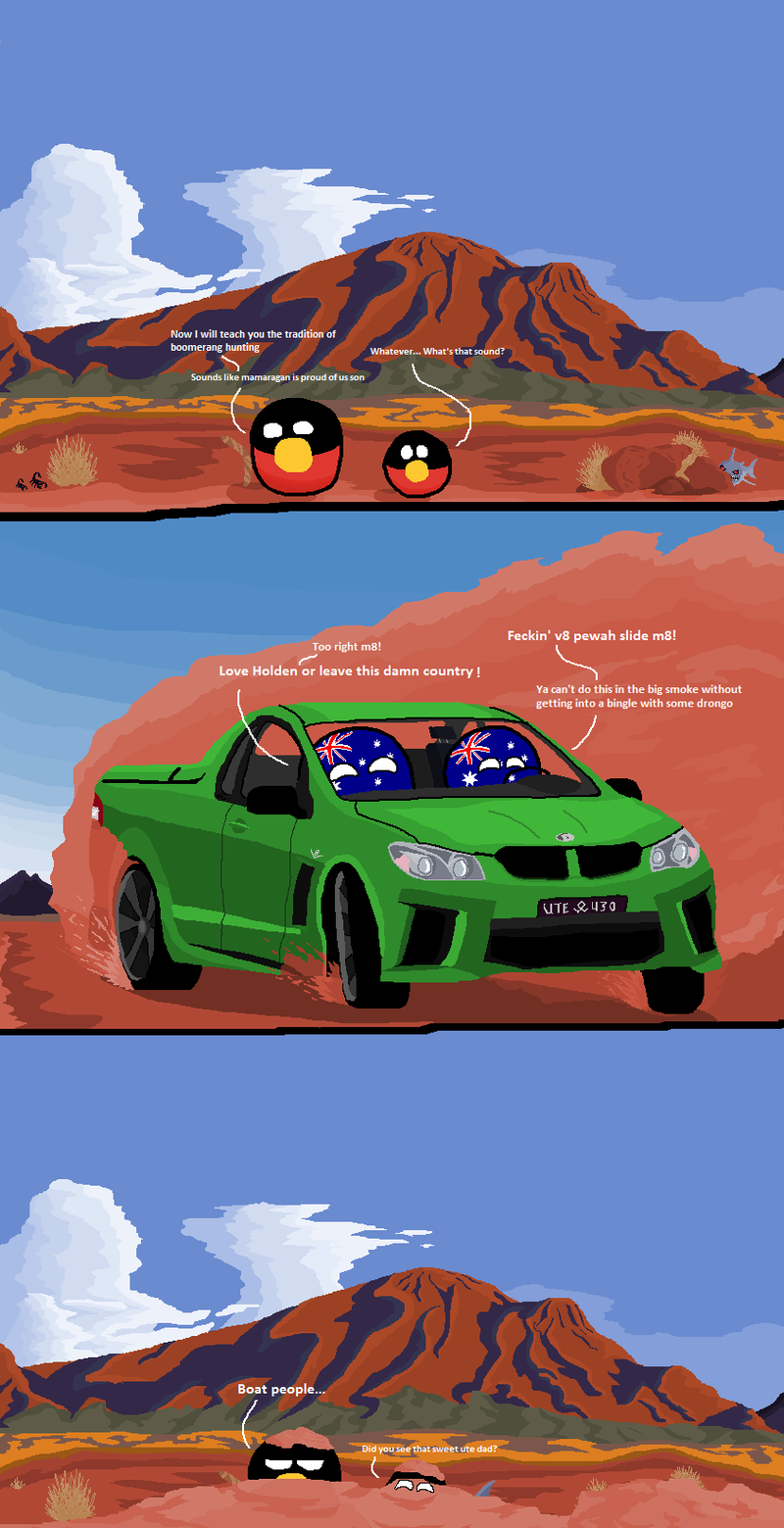 Illustration for article titled I have one serious gripe with this Polandball
