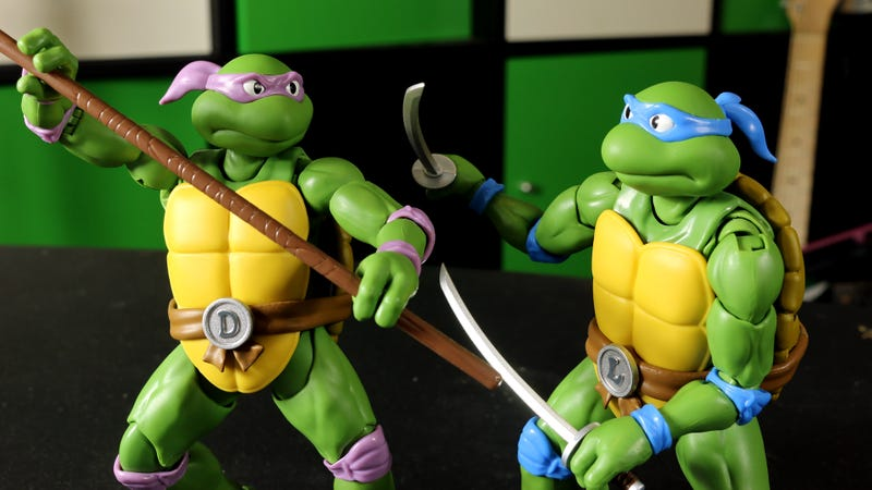 Illustration for article titled Bandai's New TMNT Figures Are The Heroes In A Halfshell We Deserve