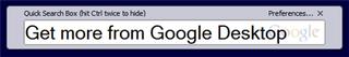 Illustration for article titled Hack Attack: Get more from Google Desktop