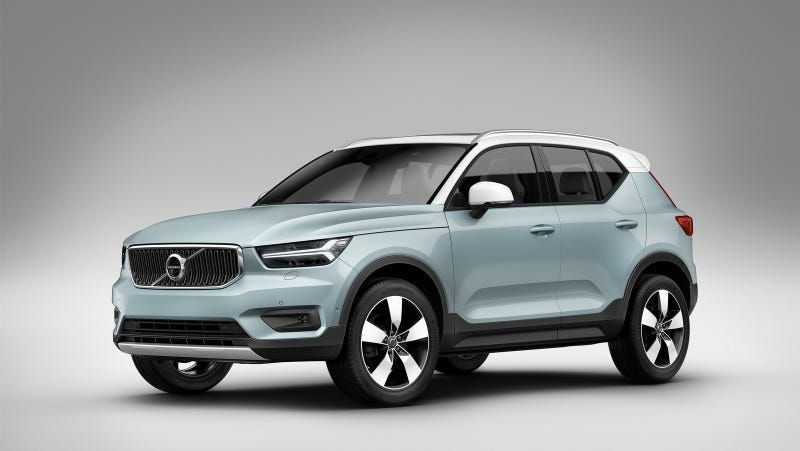2018 volvo xc40. wonderful volvo i like when production cars look close to their concepts and the new 2018  volvo xc40 didnu0027t change much from clean modern design we saw last year with volvo xc40