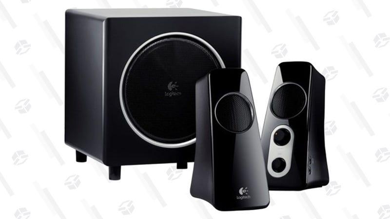 Logitech Z532 2.1 Speaker System | $50 | Amazon