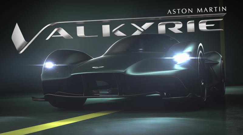 Illustration for article titled Aston Martin's New Hypercar Finally Gets A Name: Valkyrie