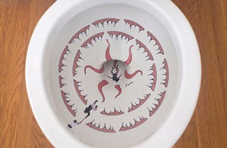Illustration for article titled Awesome Decals Turn Your Toilet Bowl Into a Deadly Sarlacc Pit