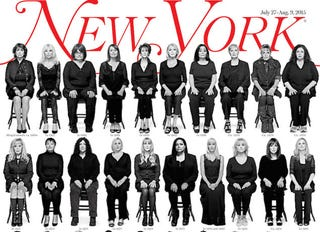 Illustration for article titled New York'sCosby Cover Photographer Describes 'Intense Bonding' on Set