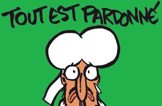 La nueva portada de Charlie Hebdo que Googgle ayudó a financiar