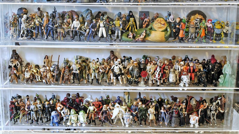 Illustration for article titled How To Instantly Own The World's Coolest Star Wars Action Figure Collection