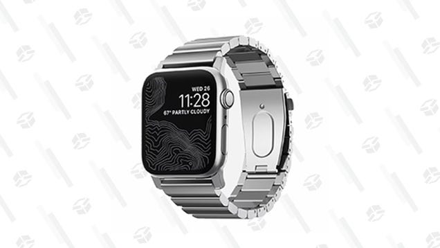 For Today Only, You Can Get 50% off a Stainless Steel Apple Watch Band From Nomad [Exclusive]