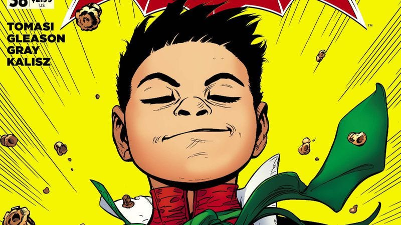 Illustration for article titled Exclusive DC preview: A superpowered Damian Wayne returns to Batman And Robin