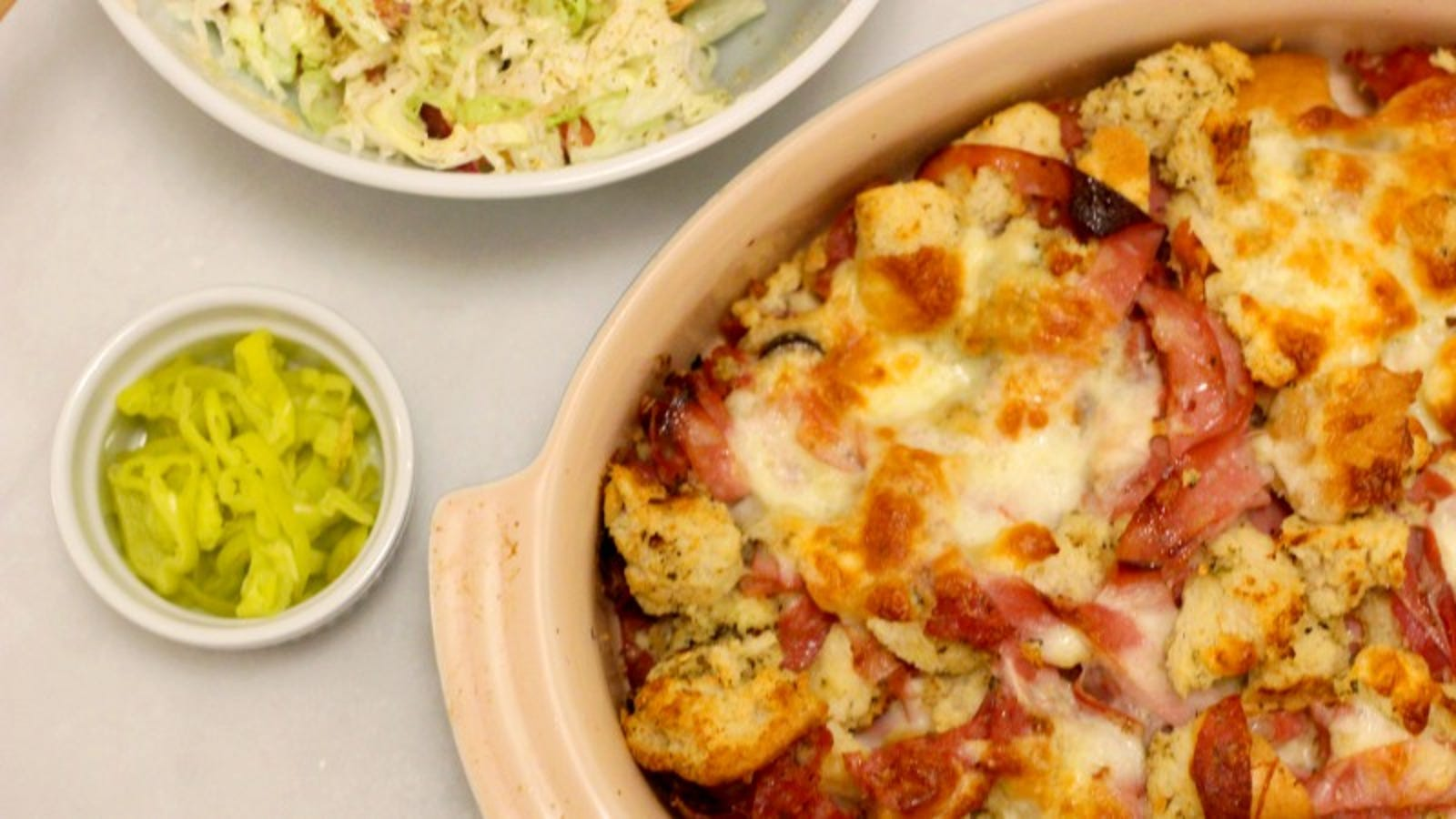 This Italian Grinder Casserole Will Improve Your Quality of Life