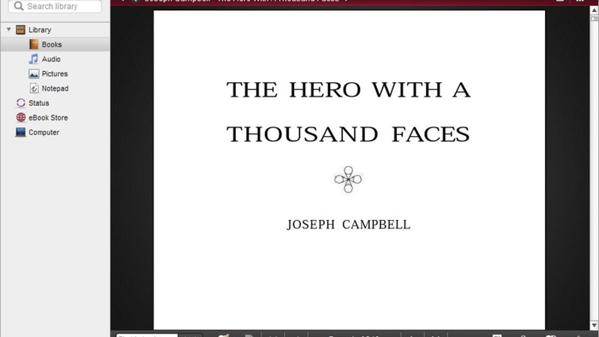 Download a epub with the thousand faces hero