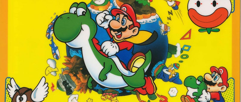 Illustration for article titled Unearthed 1990 Interview Reveals Great Insights AboutSuper Mario World