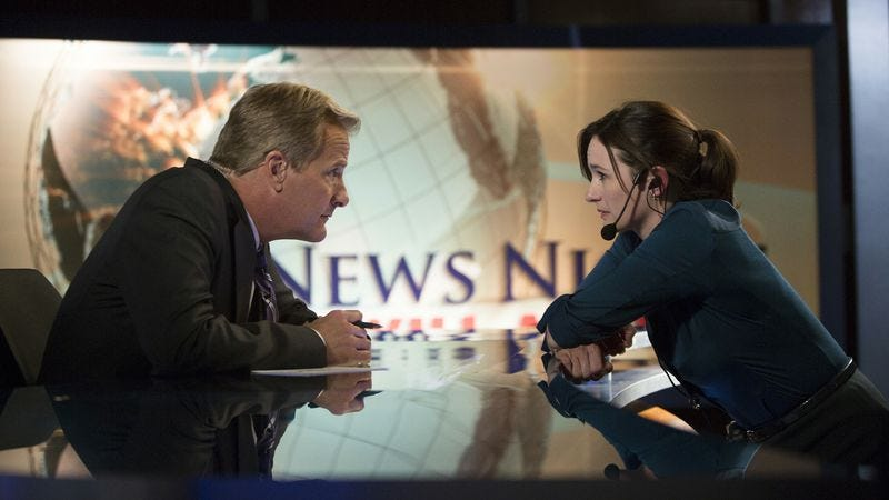 "Illustration for article titled The Newsroom: ""News Night With Will McAvoy"""