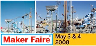 Illustration for article titled Maker Faire Hits Bay Area May 3 and 4