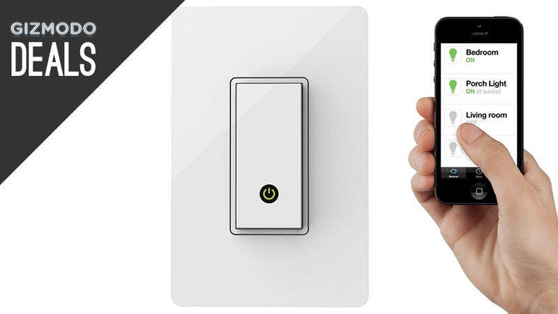 Illustration for article titled Automate Your Home With WeMo And Nest, Get Into Photography [Deals]