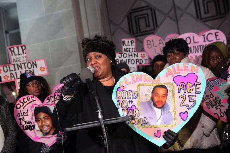 Collette Flanagan (Mothers Against Police Brutality)