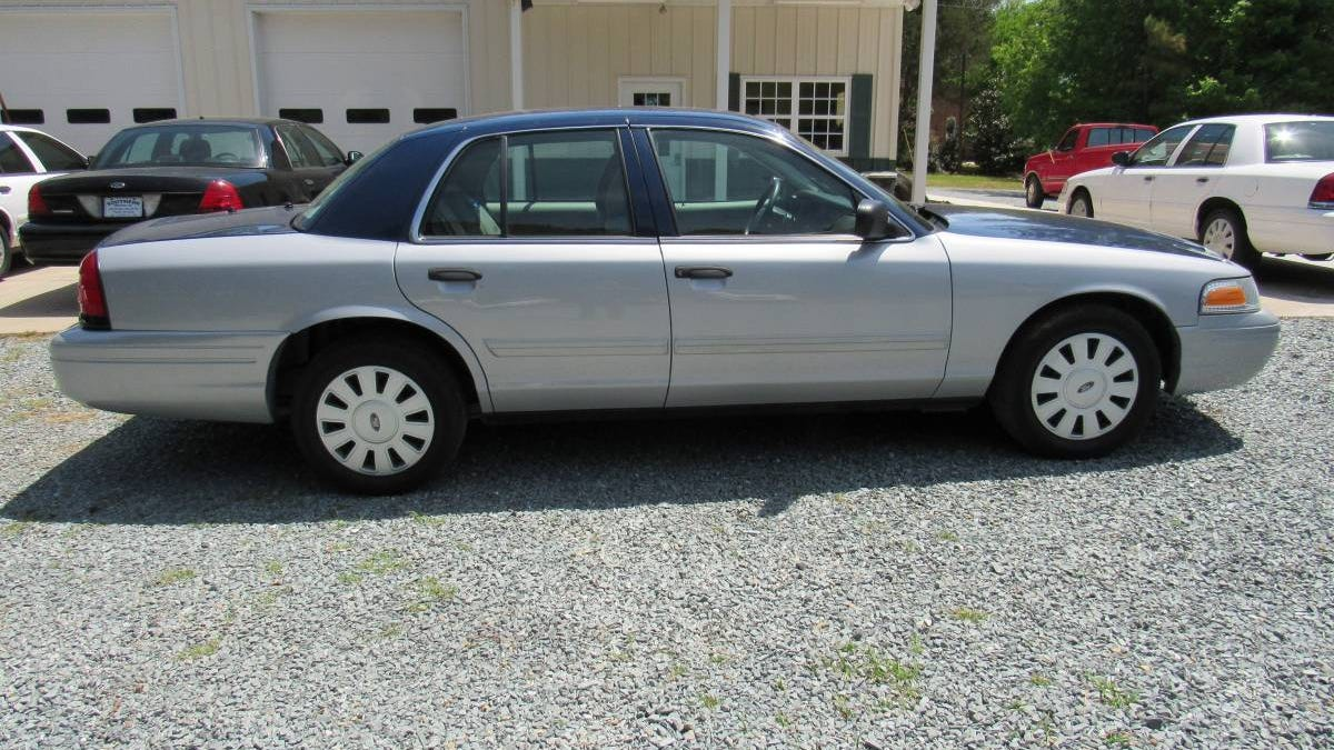At $3,975, Could This 2011 Ford Crown Vic Interceptor Be Your Blue