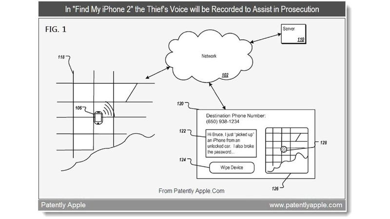 Illustration for article titled Apple Adding Surveillance and Data Scrambling to Find My iPhone?