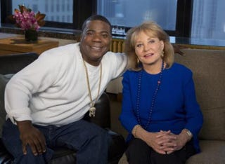 Tracy Morgan and Barbara WaltersHEIDI GUTMAN/ABC VIA GETTY IMAGES