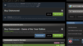 Illustration for article titled Enhanced Steam Adds Price History, Game Info to Steam in Your Browser
