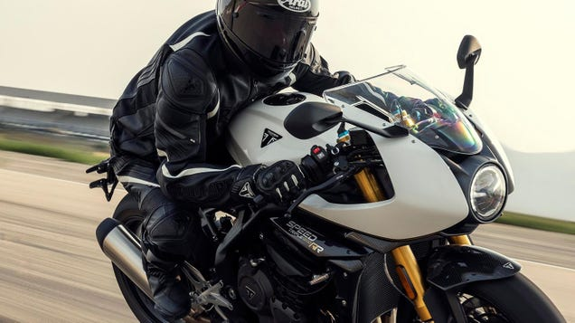 Triumph Is Chasing Lap Times With The Speed Triple 1200 RR