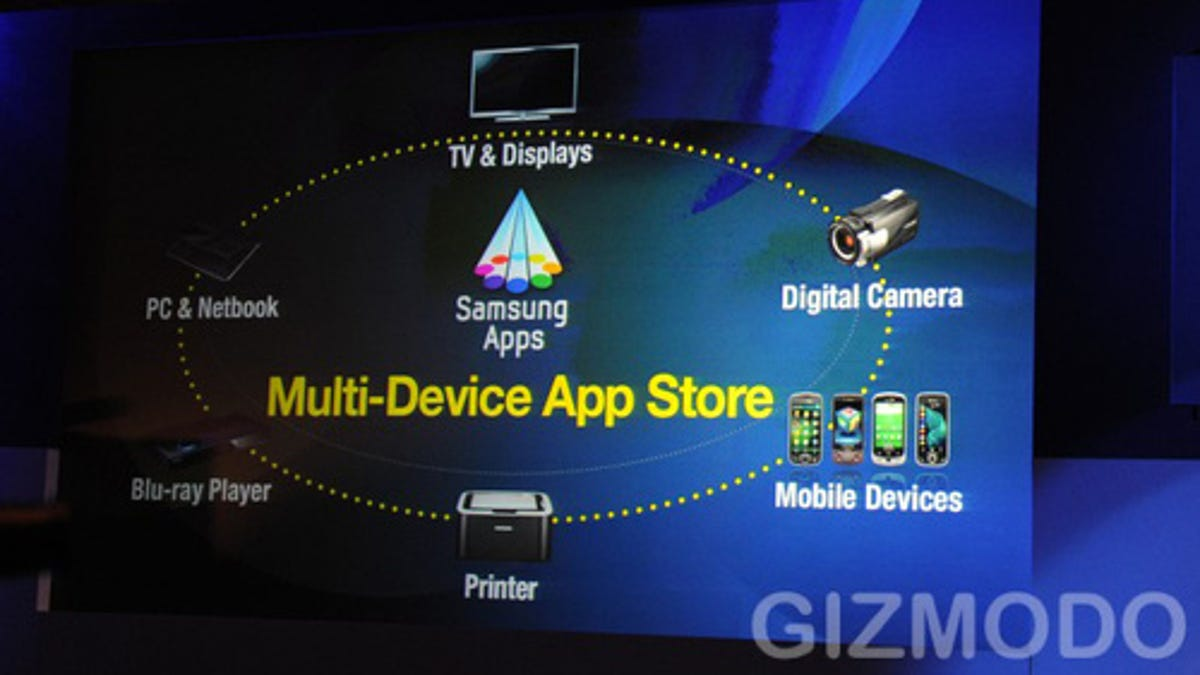 Samsung App Store For All Your (Samsung) Gadgets