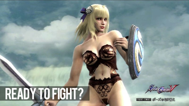 Illustration for article titled Perverts Running Amok with NSFW SoulCalibur V Character Creation!
