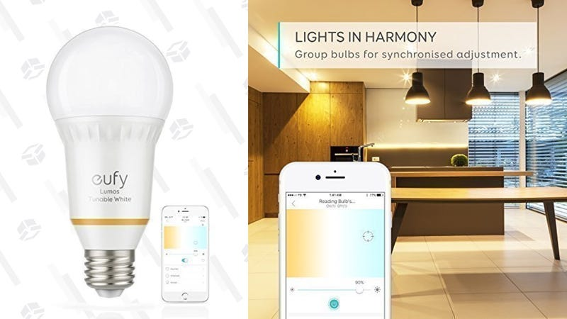 Eufy White Smart Bulb | $12 | AmazonEufy Tunable White Smart Bulb | $15 | Amazon