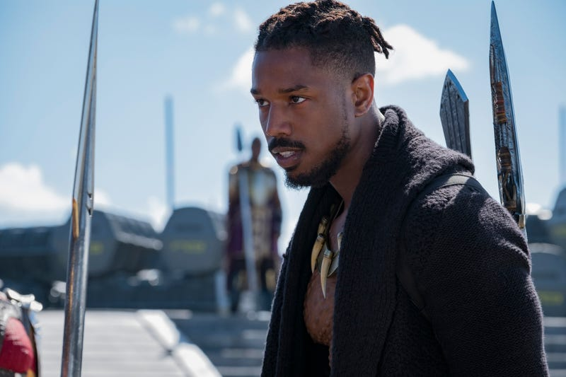 Michael B. Jordan as Erik Stevens/N'Jadaka/Killmonger (courtesy of Marvel Studios/Disney)