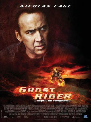Illustration for article titled Ghost Rider French Poster Gallery