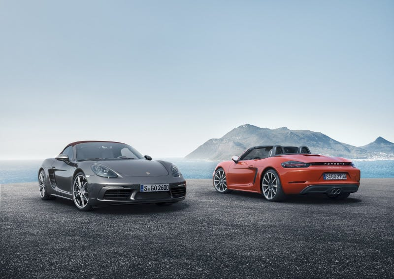 Illustration for article titled Proposed Porsche 718 and 911 Lineup