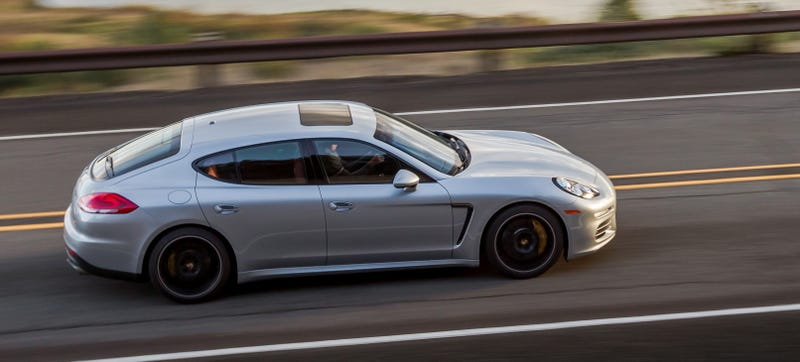 Image courtesy of Porsche. Does not depict stolen car.